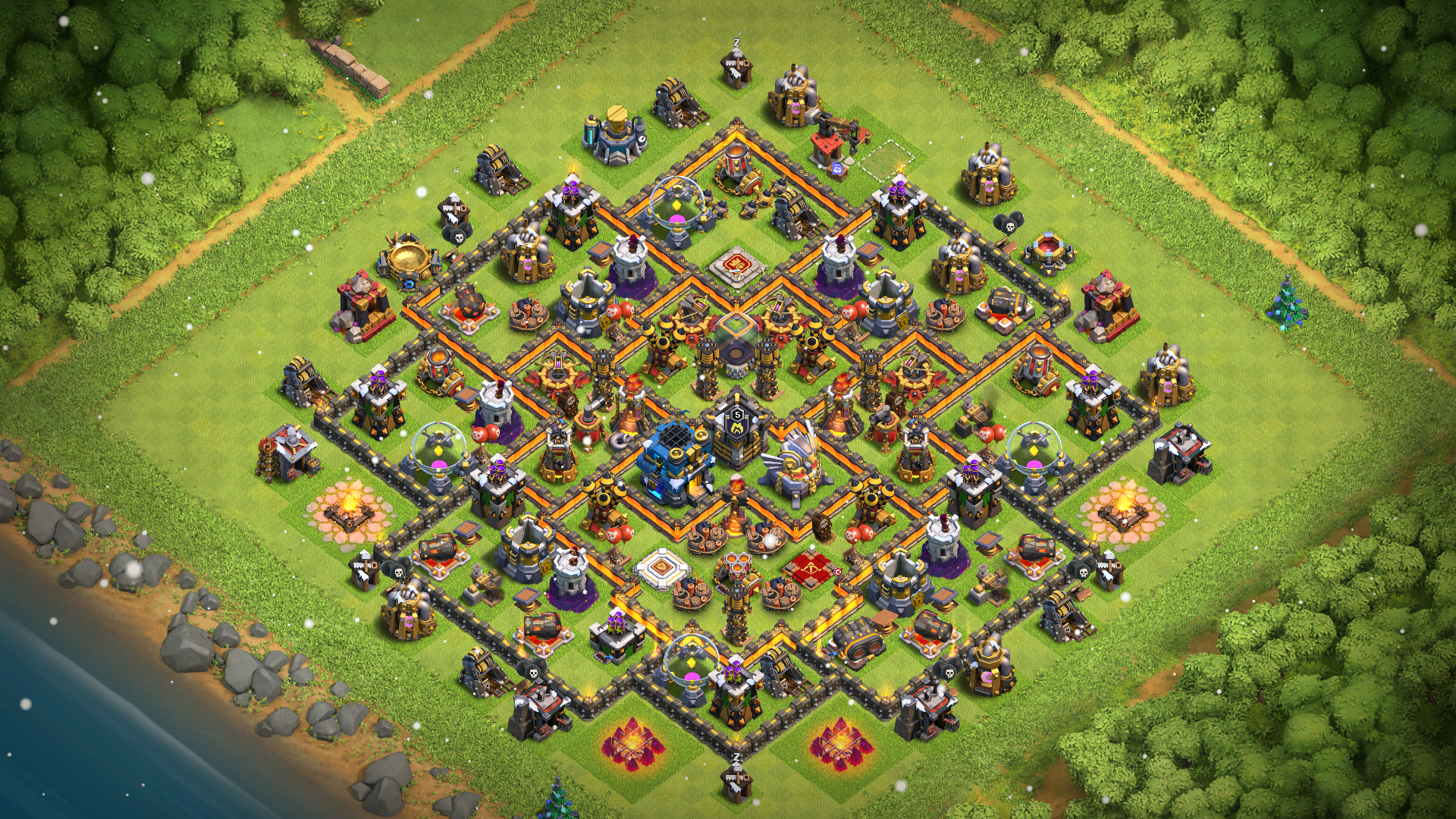 NEW Best Town Hall 12 Base with Replay Proof