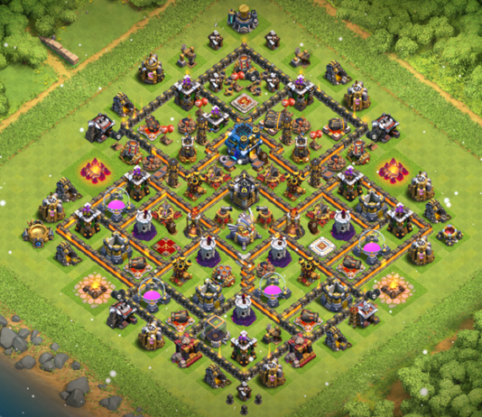 NEW TH11 WAR-TROPHY Base