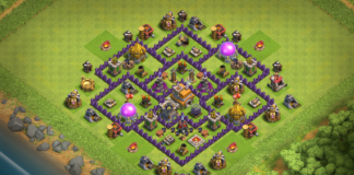 New Best TH7 TROPHY-FARMING Base