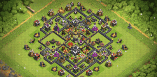 New TH9 base 2018 with REPLAYS
