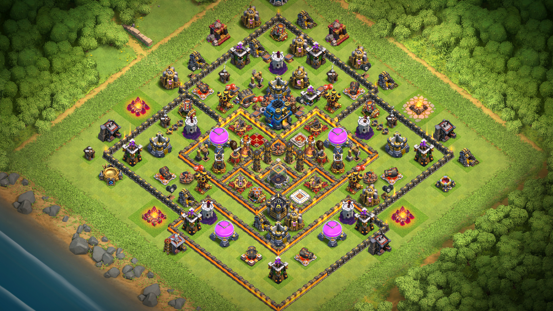 NEW TH11 Farming base