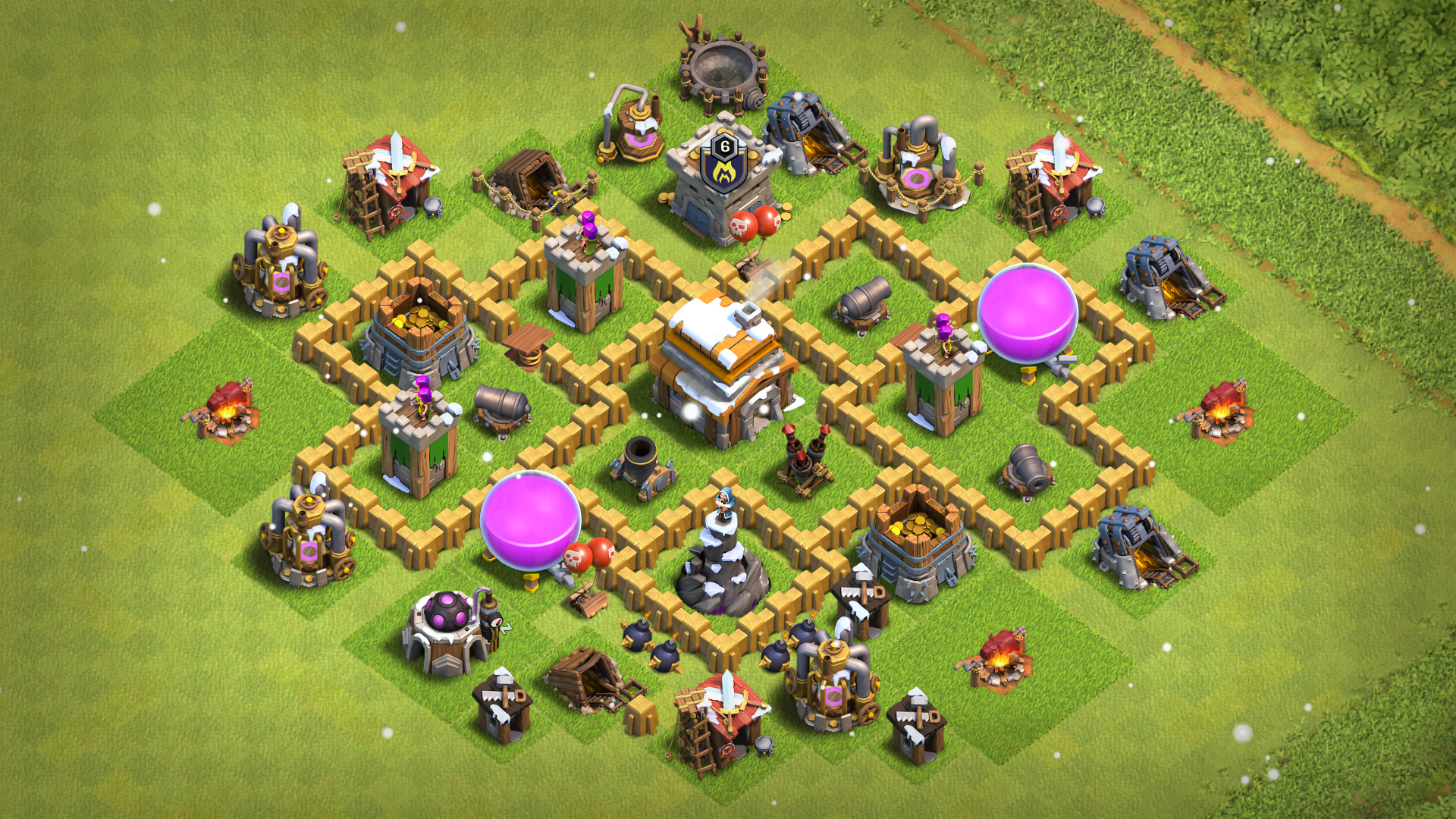 Best Th5 Base Layout 2019 1