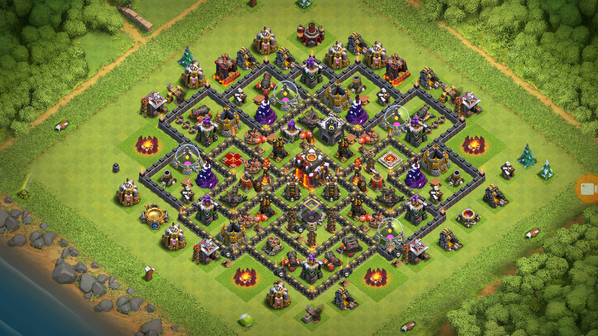 Best Th10 Base Layout 2019 8