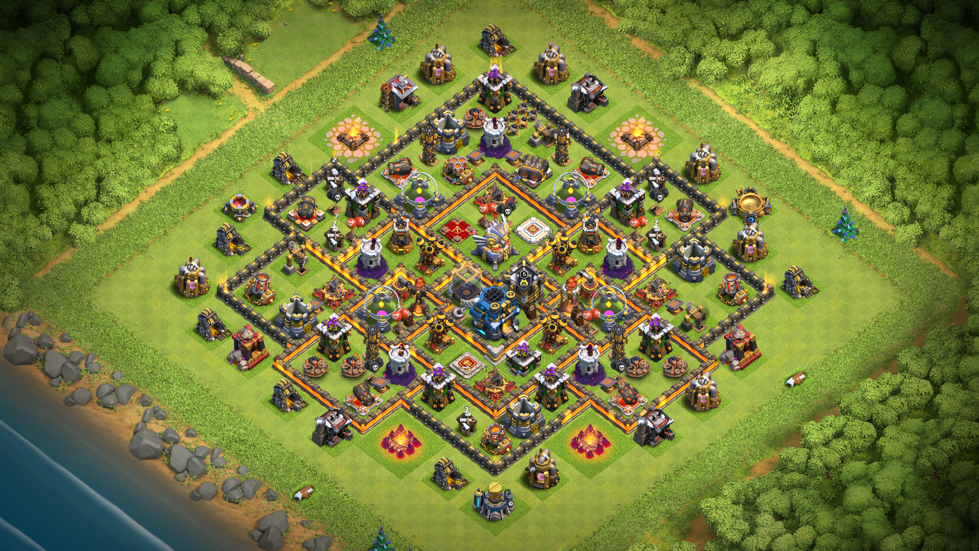 Town Hall 11 Base
