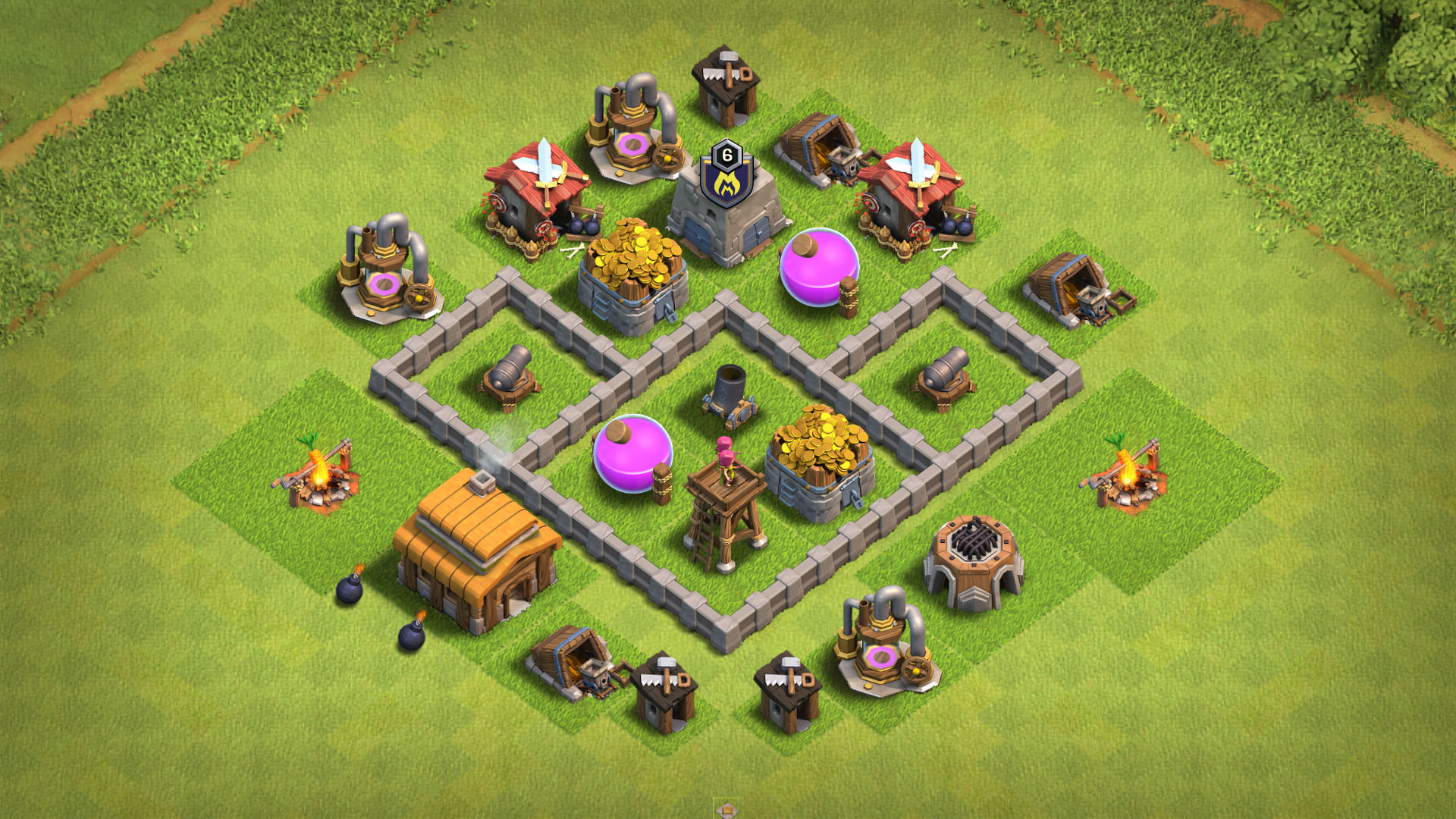 Best Base For Th 3 In Coc 10