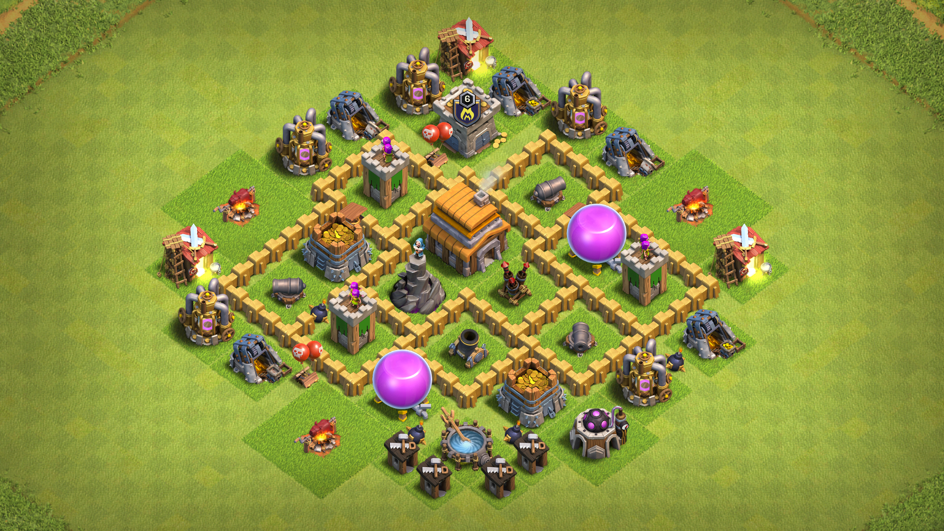 Th5 Best Base Layout 5