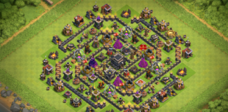 Th9 Farming Base Without Xbows 2