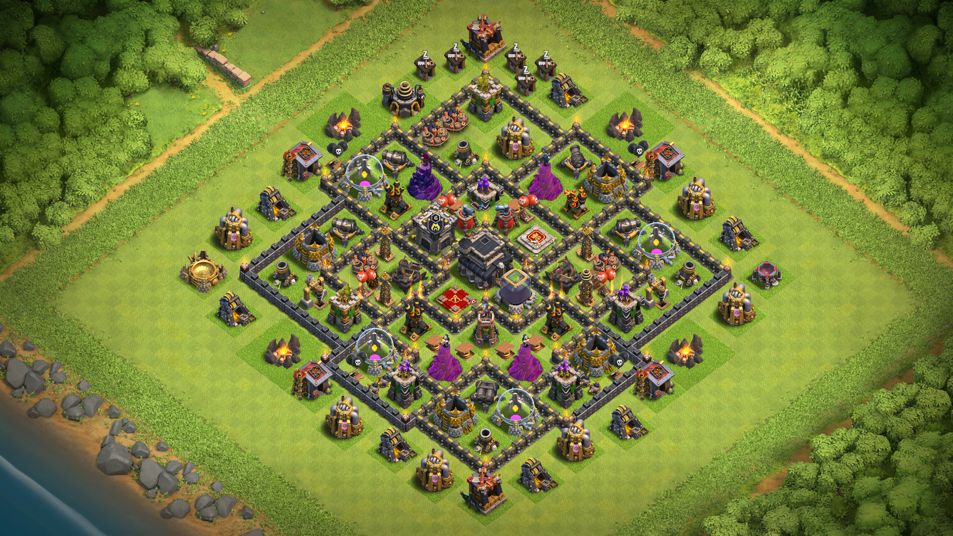 Best Th9 Base Layout 5